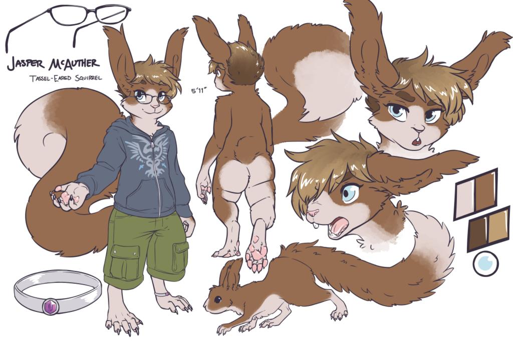 Character Sheet: Jasper (clothed)