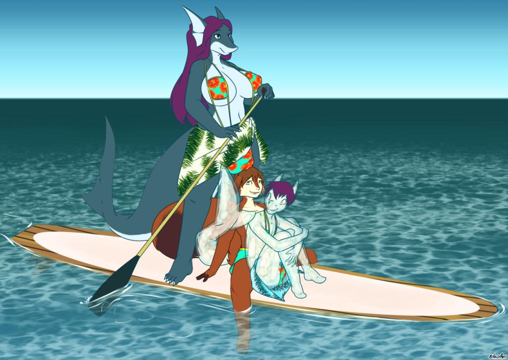 Paddleboardin'
