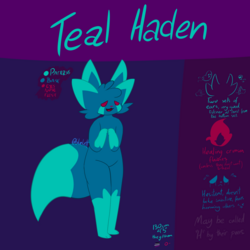 Teal Haden Reference Sheet April 2020