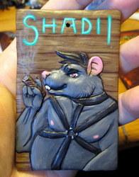 Shadii Bas Relief Badge