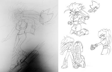 Keira-Jo sketches