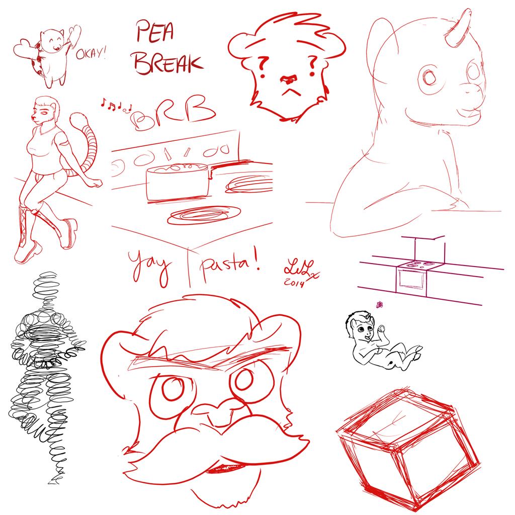 Stream Doodles (11/11 thru 3/8)