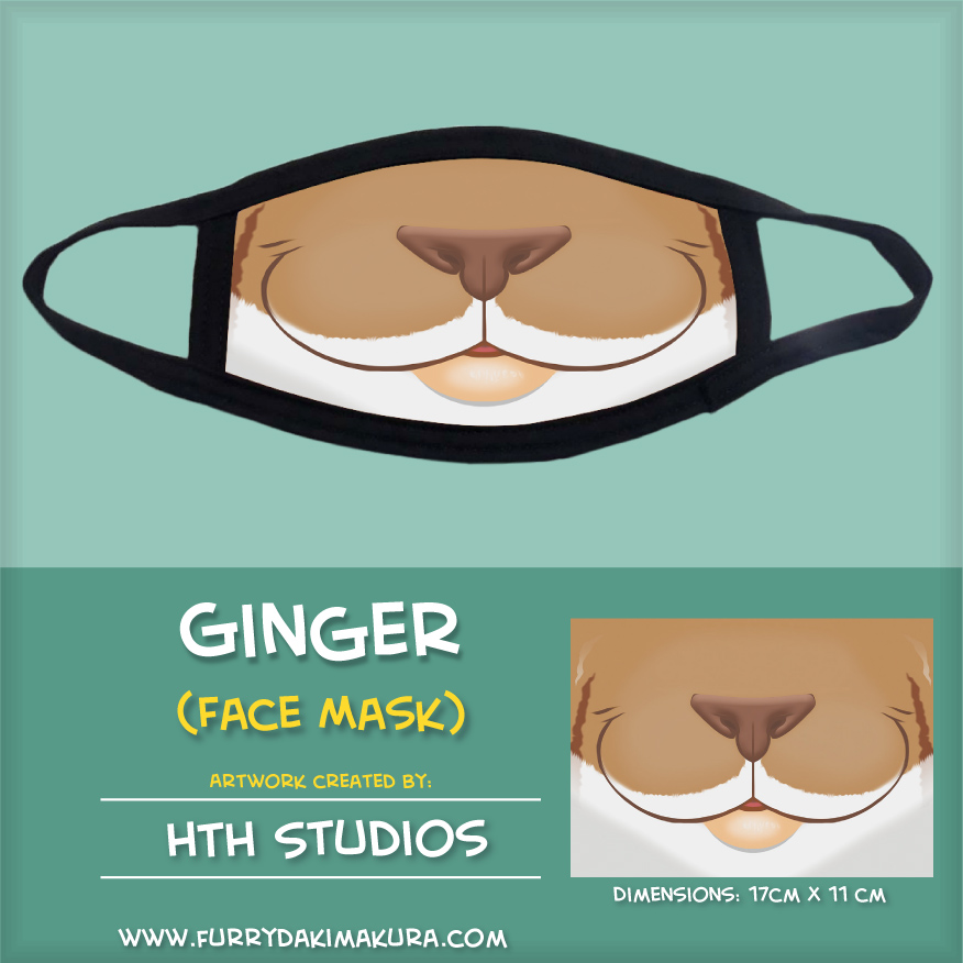 Ginger Face Mask by HTH Studios