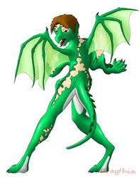 Green Dragonsuit Transformation (old)
