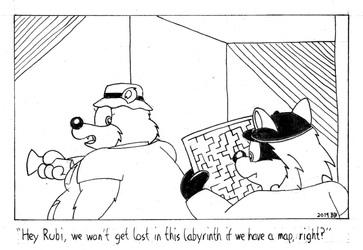 Beryl & Rubi Cartoon