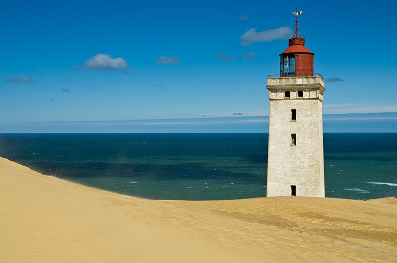 sandy lighthouse