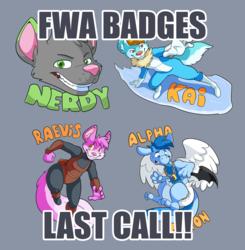 FWA 2016 BADGES!!