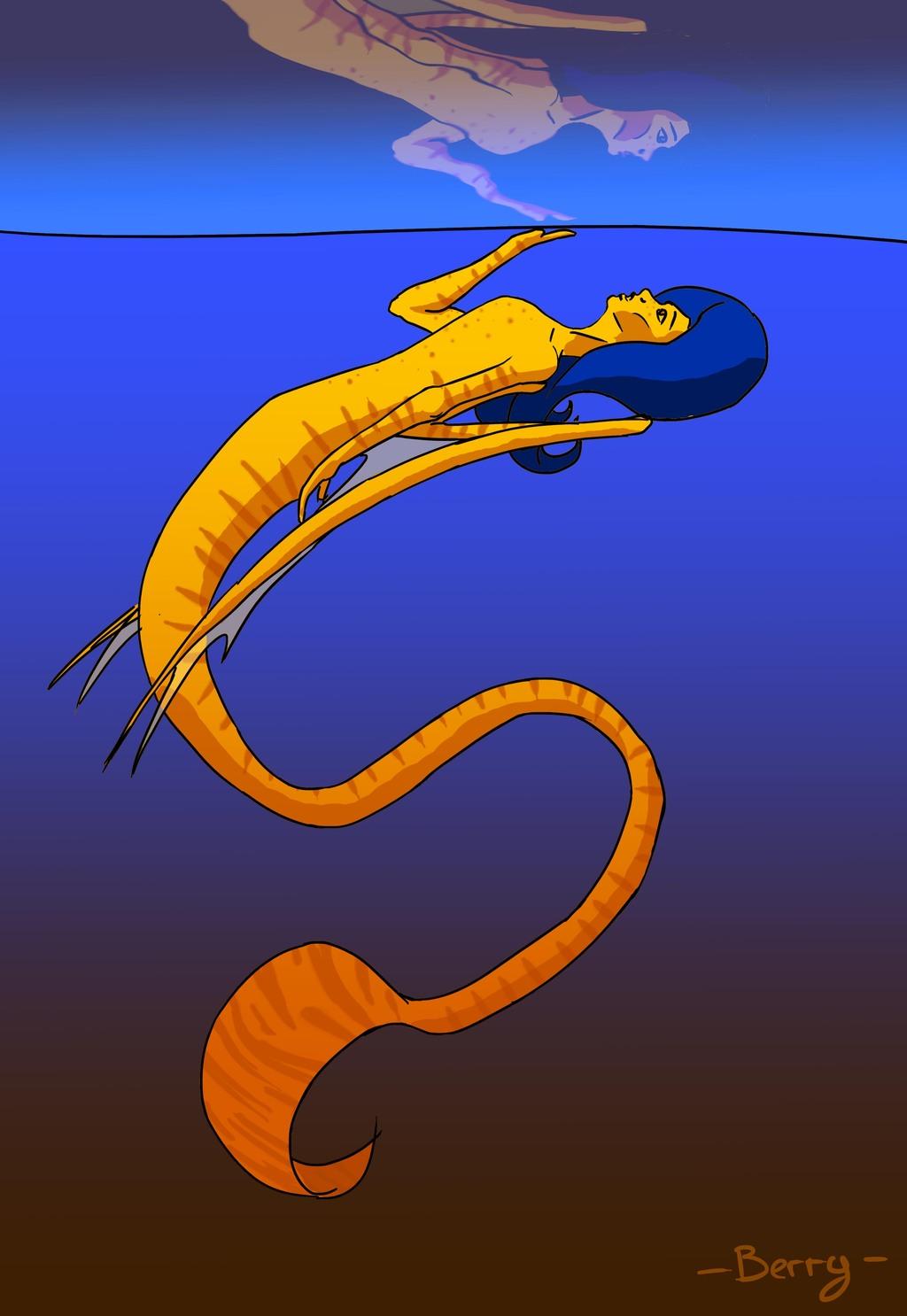 A draren ( OC and original species)
