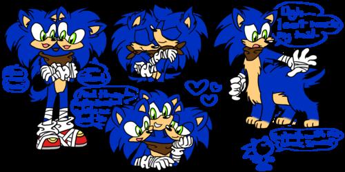 Sonic Boom doodles