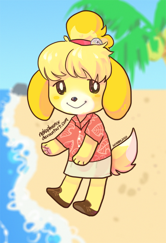 Island Pup   Isabelle