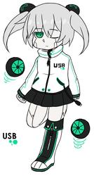 [UTAU Demo] USB-Chan