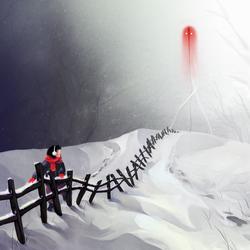 a glimpse of death in winter