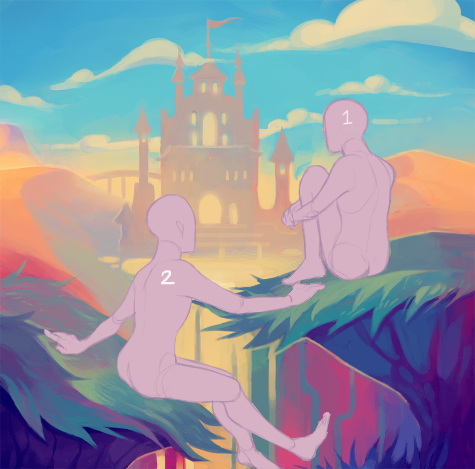 Most recent image: [YCH] Dreamscape