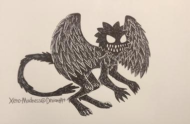 Inktober 6: Angel
