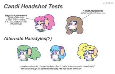 Candi Headshot Tests