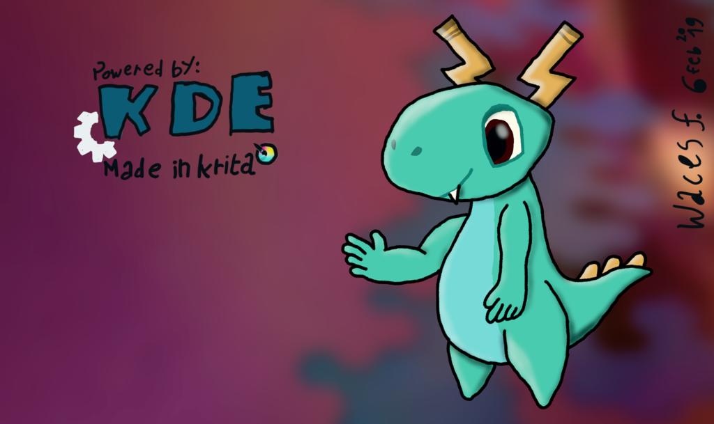KDE dragon