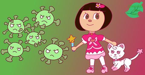 Magical Girl vs Coronavirus