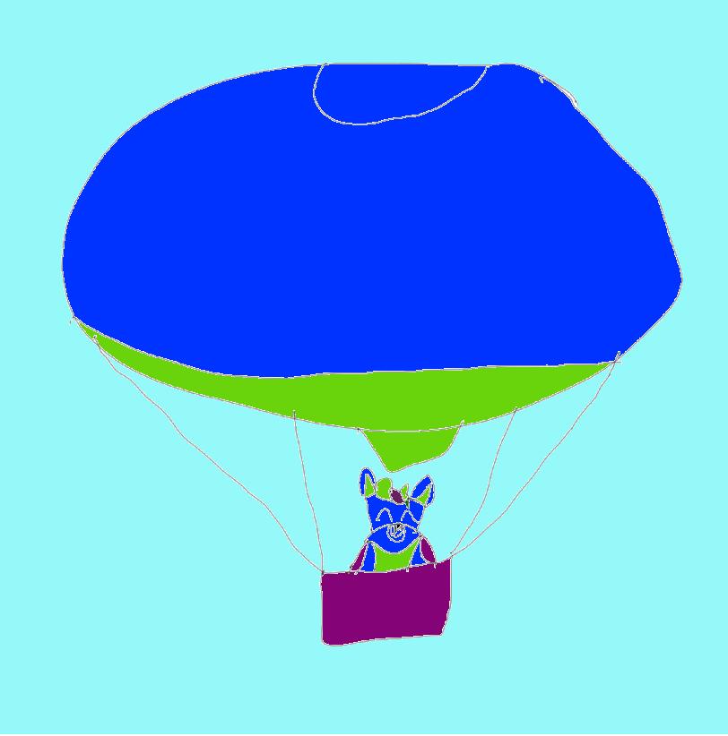 Hot Air Balloon Odin Wolf!!