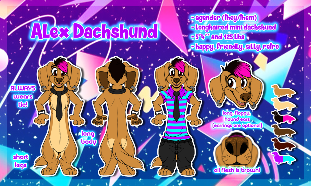 22017 Alex Dachshund Ref Sheet