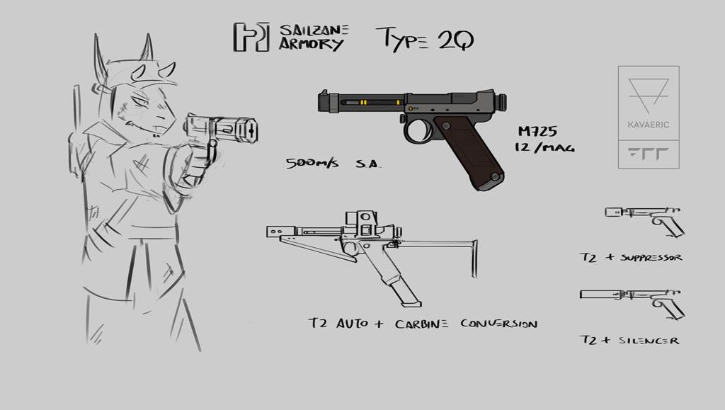 Vilousian arms: SA Type 2Q