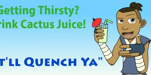 Sokka's Cactus Juice Banner