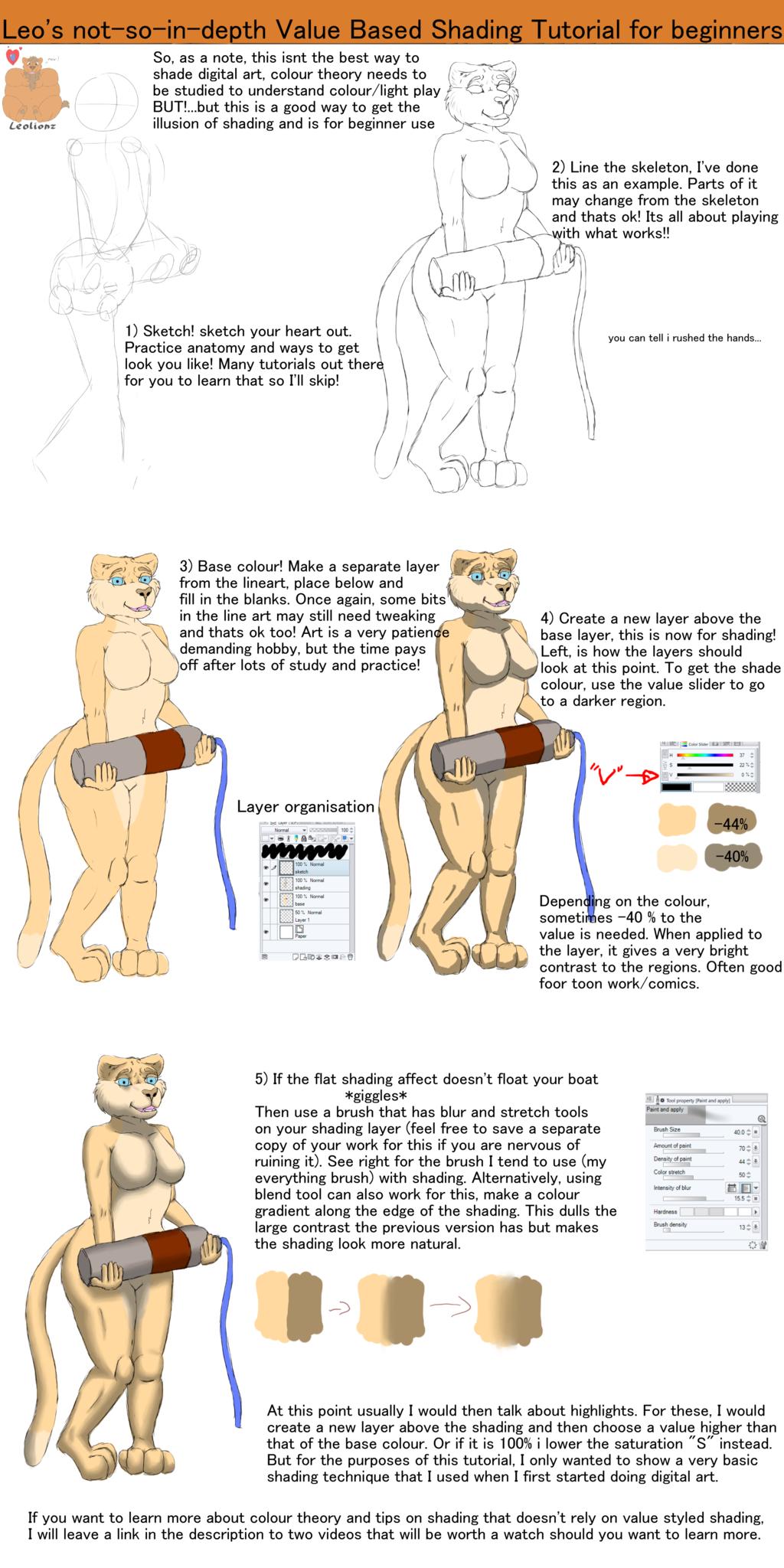 Leo's Value based Shading guide for beginners