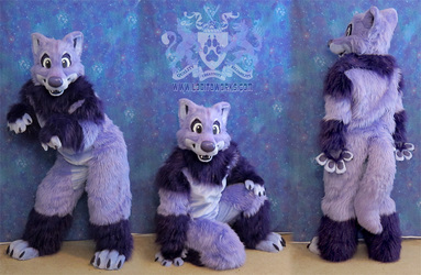 Thystle the Wolf Fursuit II