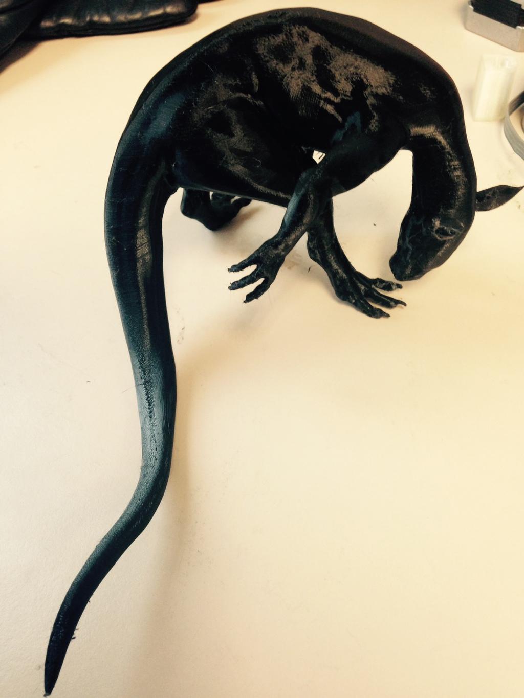 Raczoon's Critter - 3D Print Test