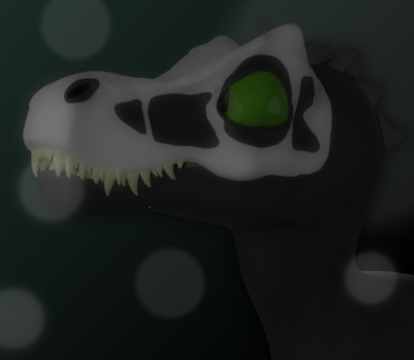 HenryTheAlligatorsaurREX - Landscape (Skull-Faced of theme)