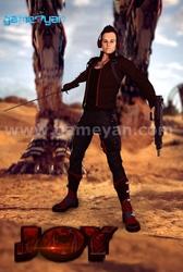 3D Joy male Warrior Character Animation Studio By GameYan game development companies