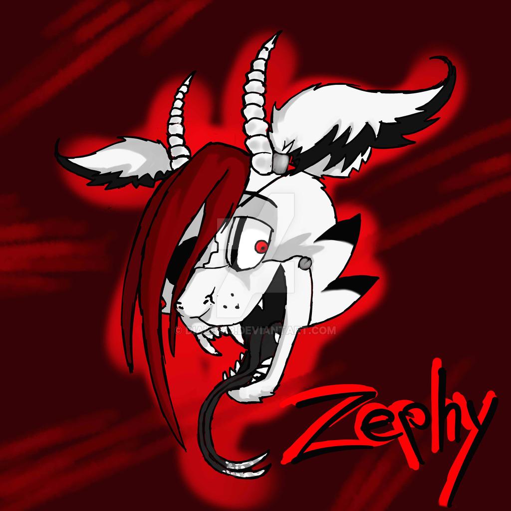 Zephy FNAF style headshot