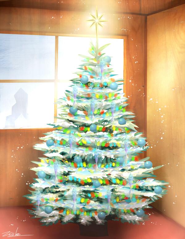 Grandma's sparkliest tree