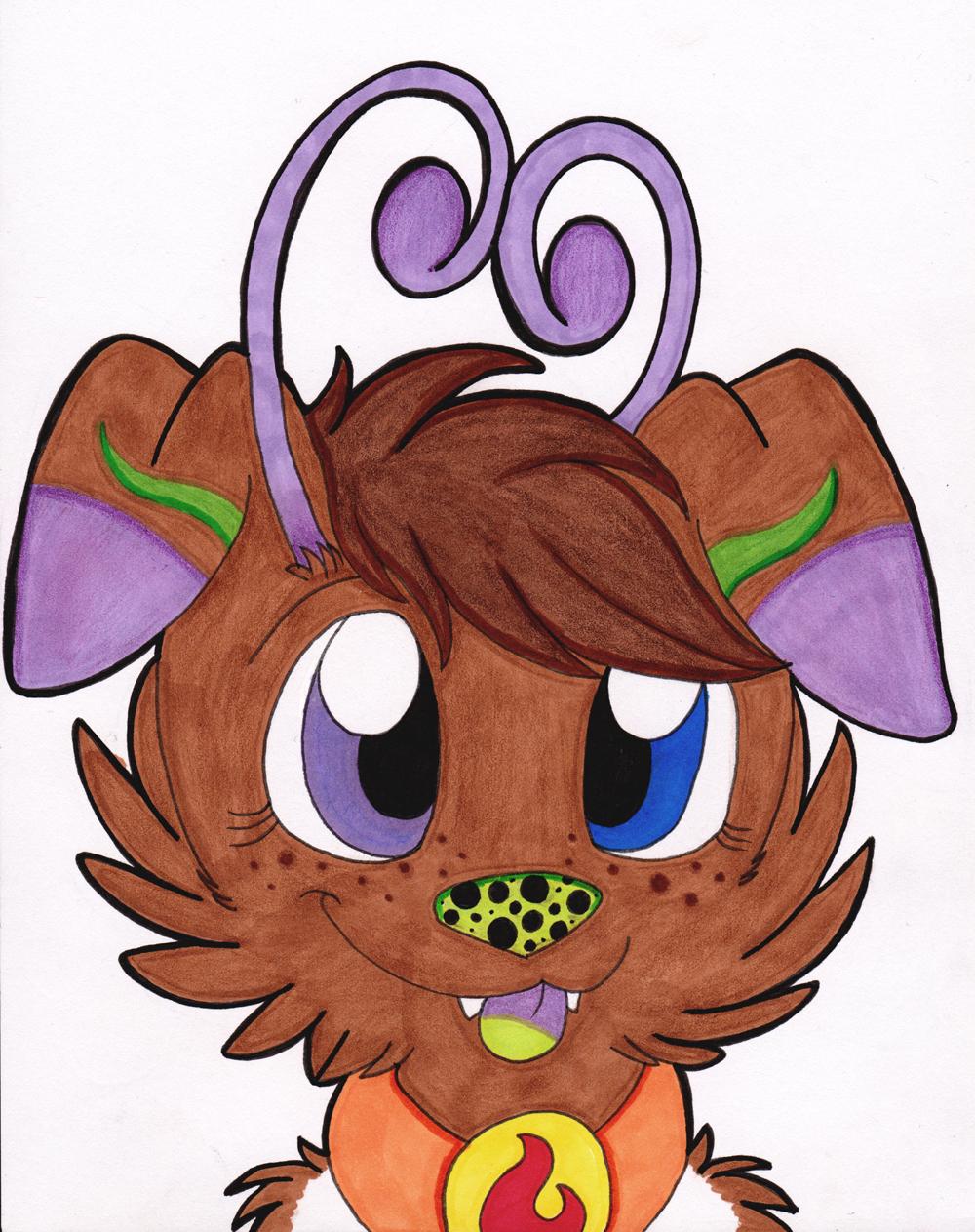 Antenna Puppy!