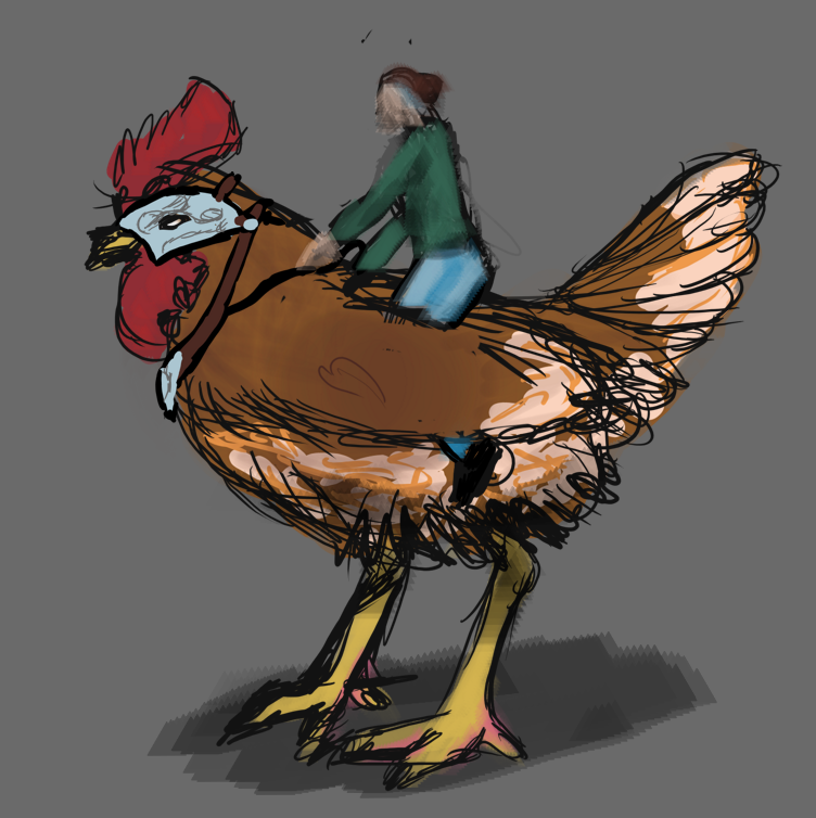 Most recent image: ChickenRider