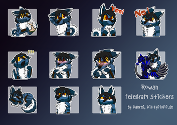Rowan - Telegram Stickers