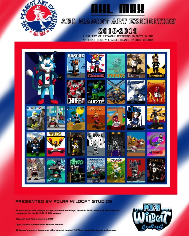 AHL MAX: 2018-2019 Full Collage