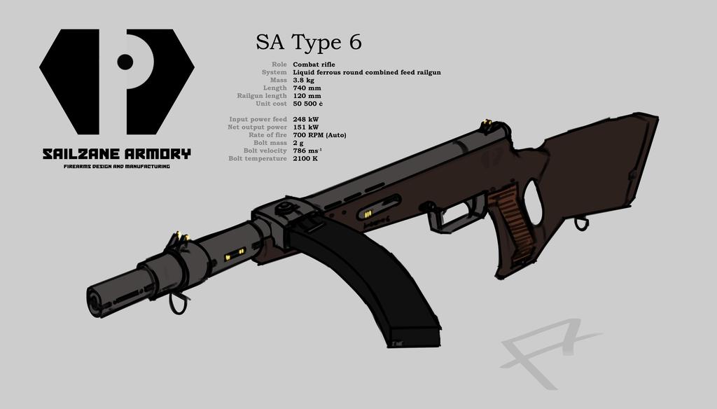 SA Type 6 combat rifle