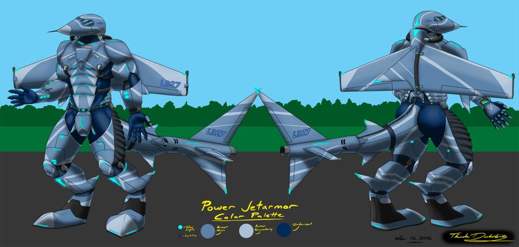 Lightning Ref (Male, Power JetArmor)