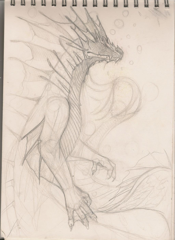 Sea Dragon [CM] - Base Sketch