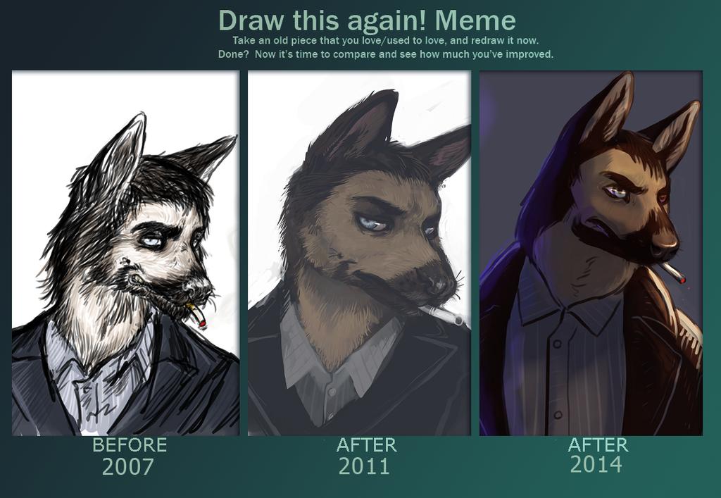"""""""draw this again"""" meme"""
