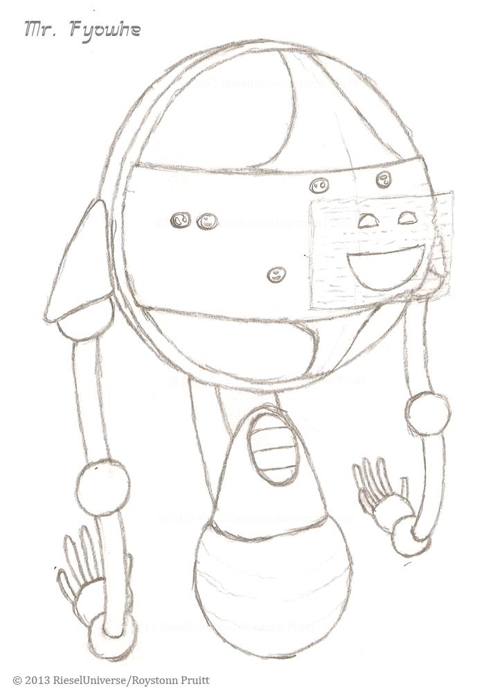 Mr. Fyowhe - Sketch