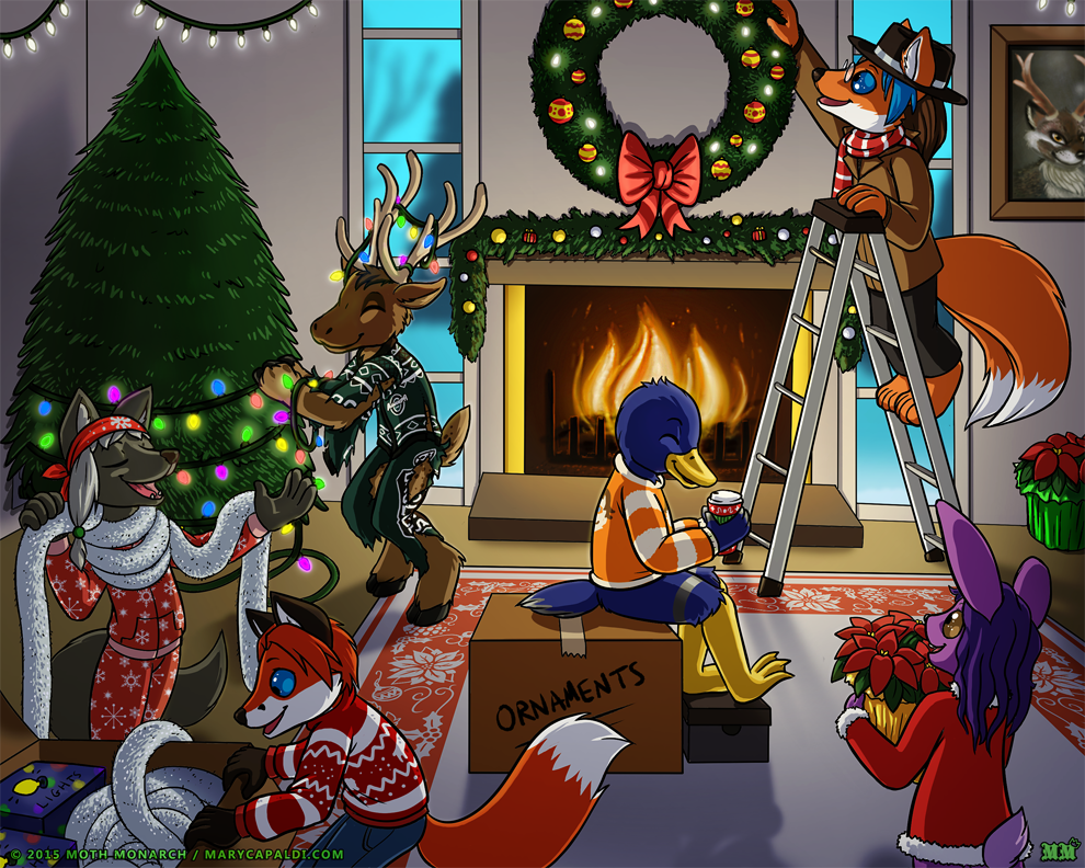 YCH Holiday Preparations