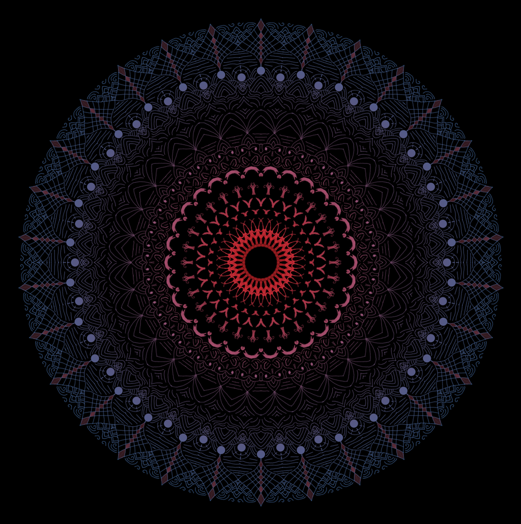 Most recent image: Mandala 1