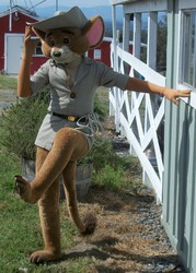Jake the marsupial mouse suit .
