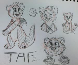 Taf Sketch Page