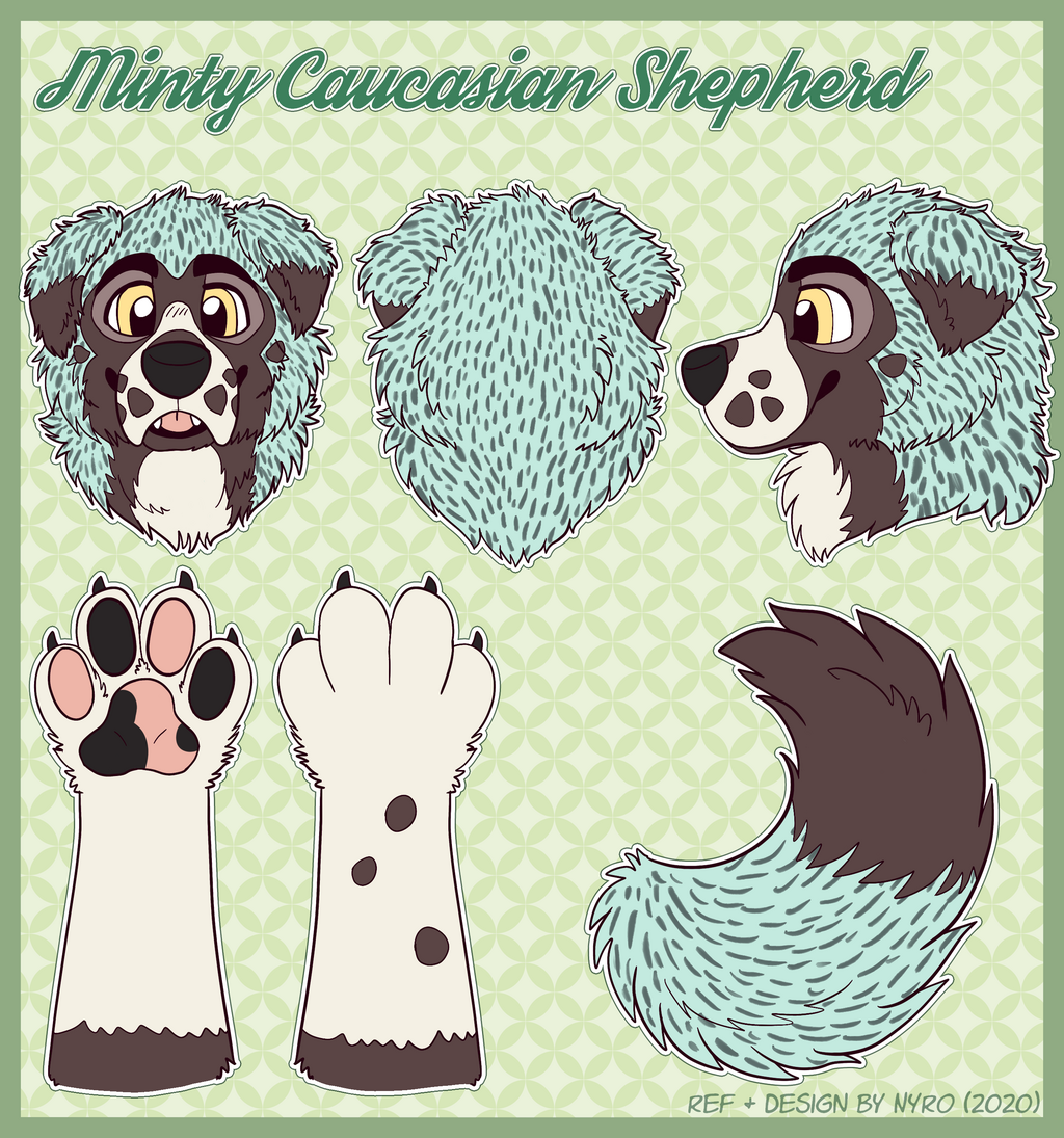 [OPEN] Minty Shepherd Premade Fursuit Partial