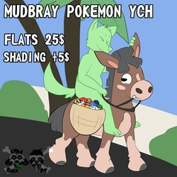 Pokemon Ych: Mudbray