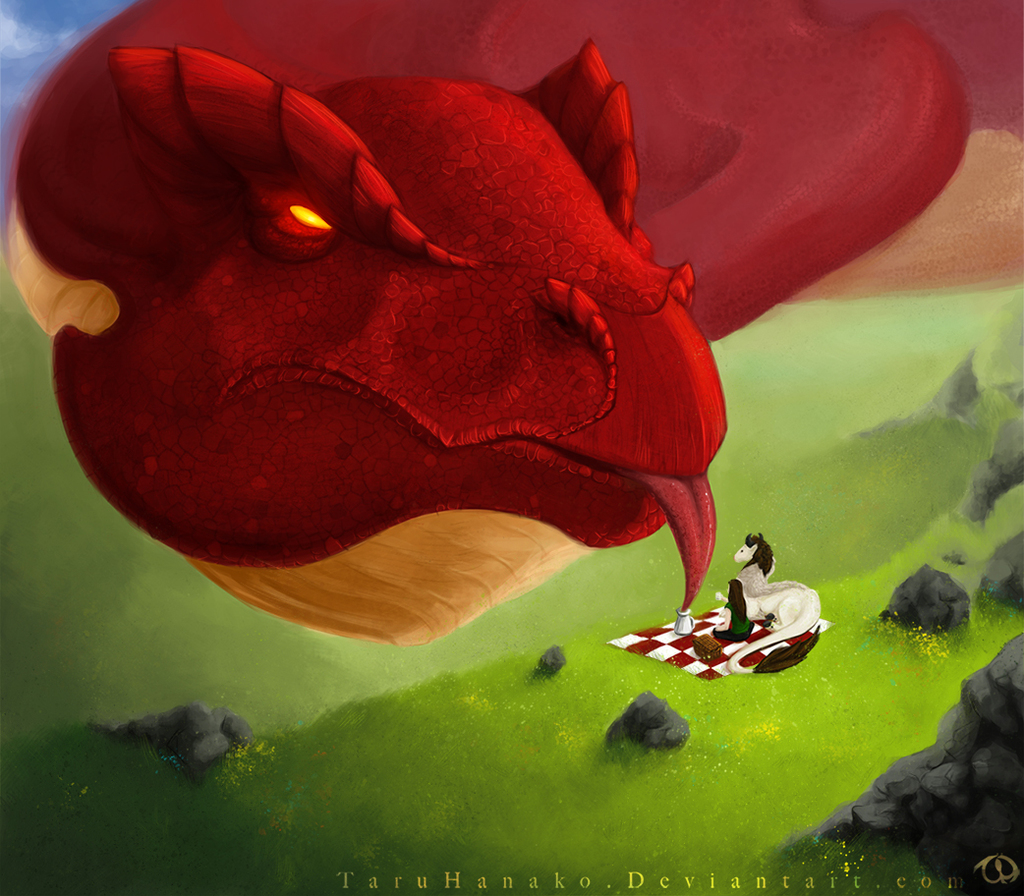 Teatime with a dragon