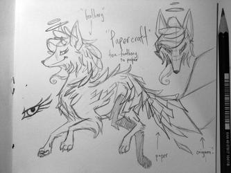 [des] papercrafty fox