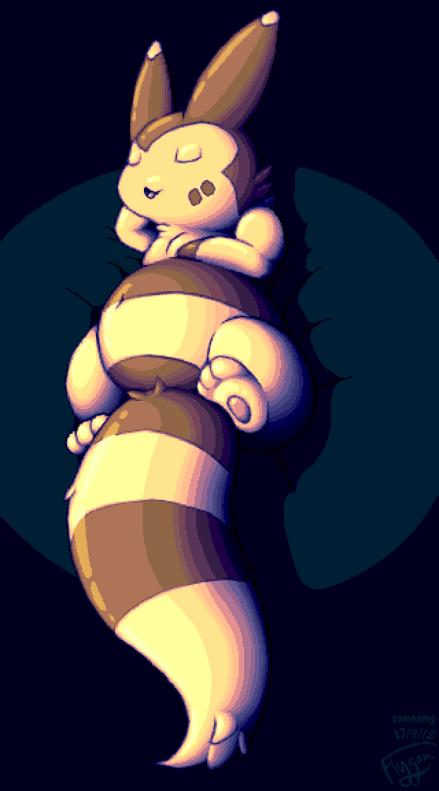 Most recent image: The Shadowed and Highlit Furret!